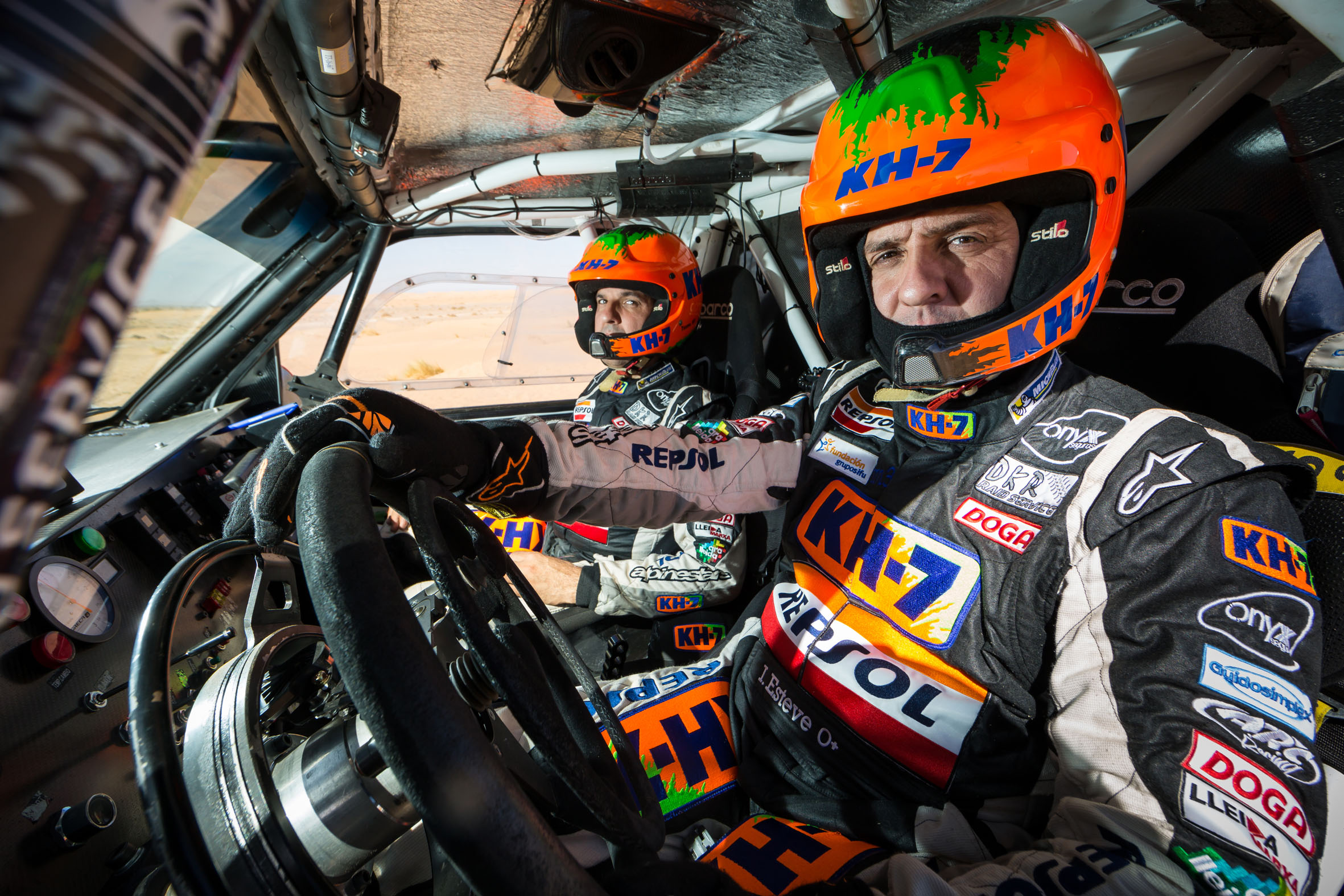2017 Rallye Raid Dakar Paraguay - Bolivia - Argentina [2-14 Enero] - Página 3 Isidre_Esteve_Test_Marruecos_5
